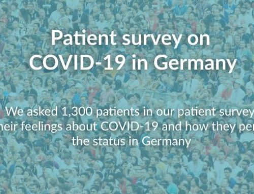 Patient Survey on COVID-19 in Germany – What do patients think?